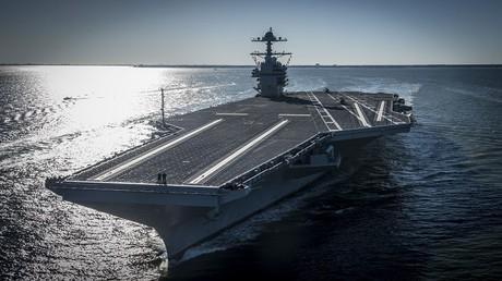 حاملة الطائرات الأمريكية USS Gerald R. Ford