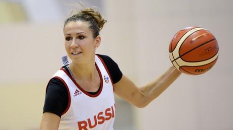 يفغينيا بيلياكوفا لاعبة منتخب روسيا - صورة من الأرشيف