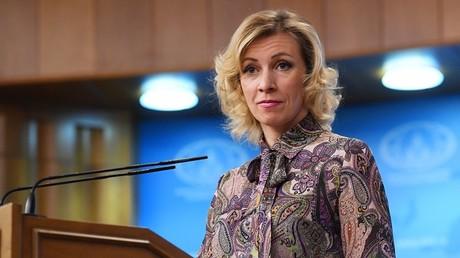 ماريا زاخاروفا، الناطقة باسم الخارجية الروسية