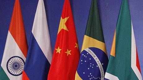 أعلام الدول الخمسة في مجموعة بريكس