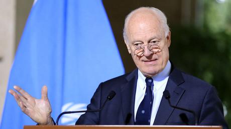 المبعوث الأممي إلى سوريا ستيفان دي ميستورا
