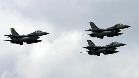 مقاتلات تركية - أرشيف -