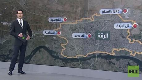 سوريا الديمقراطية تسيطر على حي شرق الرقة