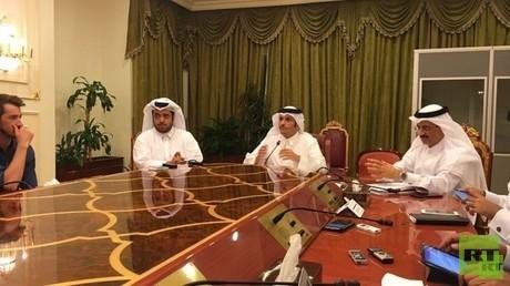 وزير الخارجية القطري يشترط رفع الحصار عن بلاده من أجل إطلاق حوار لحل الأزمة الخليجية