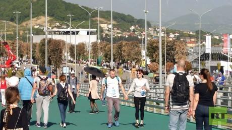 حديقة سوتشي الأولمبية تستضيف كأس القارات