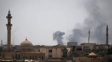 أعمال قتالية في الموصل القديمة