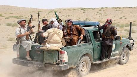 أرشيف - مسلحون في أفغانستان