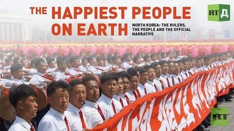 """""""أسعد الناس على الأرض"""": لقطات نادرة من داخل كوريا الشمالية بعدسة RT"""