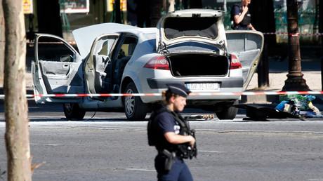 منفذ عملية الصدم في باريس بايع تنظيم