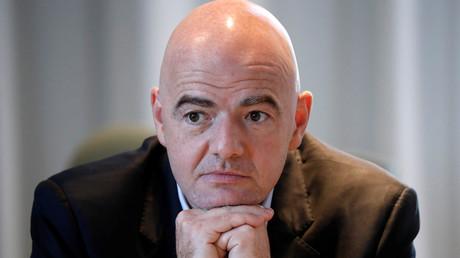 رئيس الاتحاد الدولي لكرة القدم جياني إنفانتينو