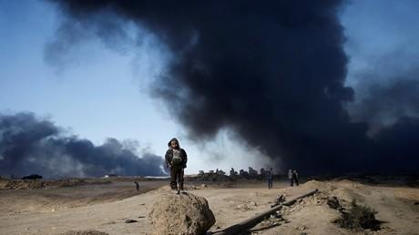 معاناة أطفال العراق