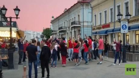 شوارع قازان تعيش أجواء كأس القارات