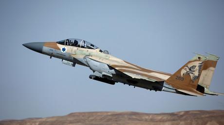 مقاتلة إف-15 إسرائيلية
