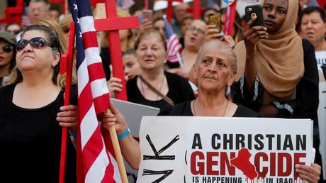 مظاهرات تطالب بوقف ترحيل عراقيين من أمريكا