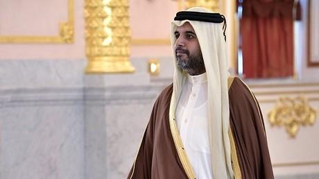 سعادة سفير دولة قطر في موسكو -فهد العطية