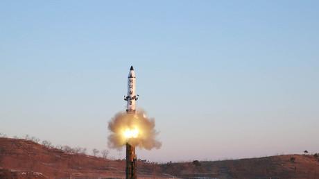 تجربة صاروخية سابقة