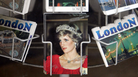 صورة الأميرة ديانا في لندن