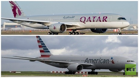 قطر تشتري 10% من الخطوط الأمريكية