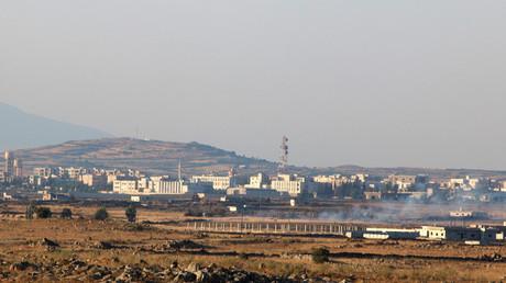 صورة أرشيفية لمدينة البعث السورية في محافظة القنيطرة