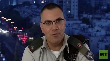 أفيخاي أدرعي المتحدث باسم الجيش الإسرائيلي