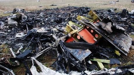 حطام طائرة الركاب الماليزية في جنوب شرق أوكرانيا