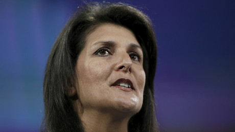 المندوبة الدائمة للولايات المتحدة في الأمم المتحدة، نيكي هايلي
