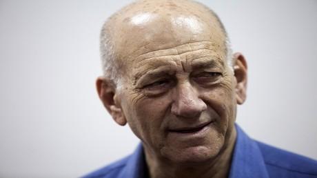 الأرشيف، رئيس الوزراء الإسرائيلي السابق إيهود أولمرت
