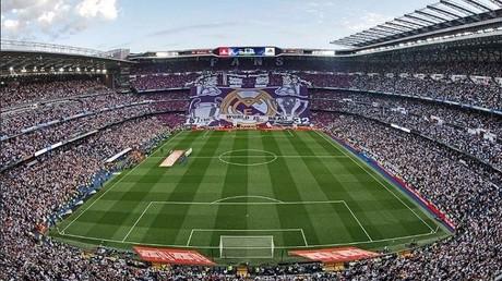 ملعب سانتياغو برنابيو معقل نادي ريال مدريد