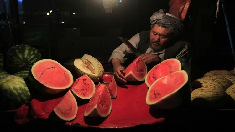 طالبان وتفخيخ البطيخ! (صور)