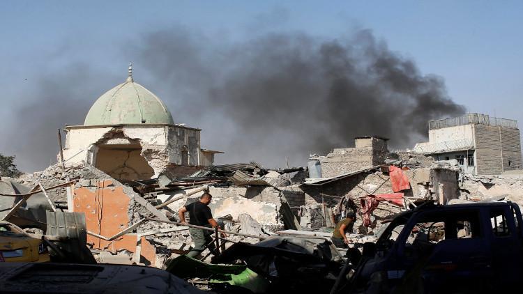 القوات العراقية تحرر باب الحديد وسوق الأربعاء في الموصل القديمة