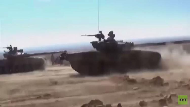 الجيش السوري يوسع سيطرته في ريف تدمر