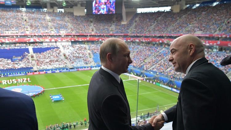 بوتين يغيب عن نهائي كأس القارات 2017