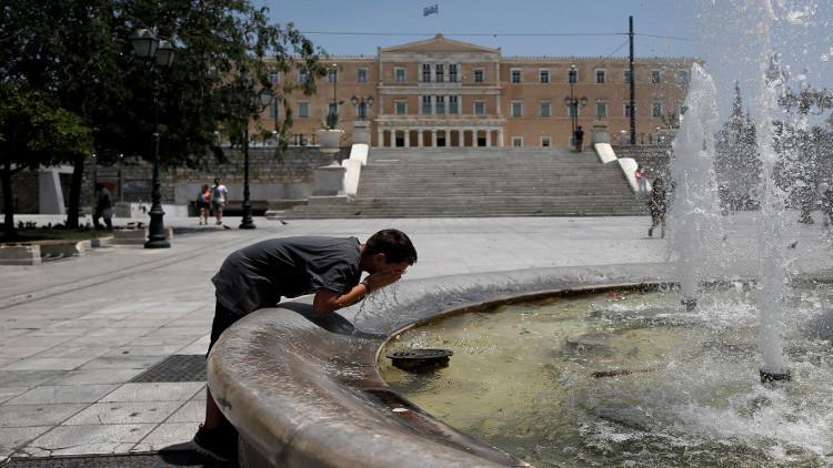 الحرارة تسجل مستويات قياسية في اليونان