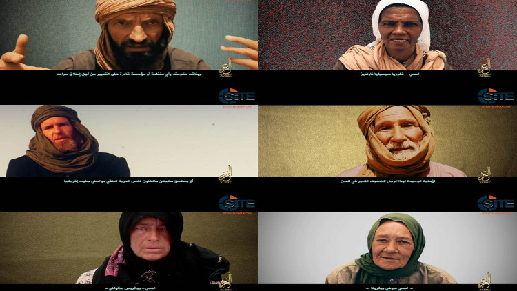 تنظيم القاعدة في مالي ينشر فيديو لـ 6 رهائن أجانب ما زالوا على قيد الحياة