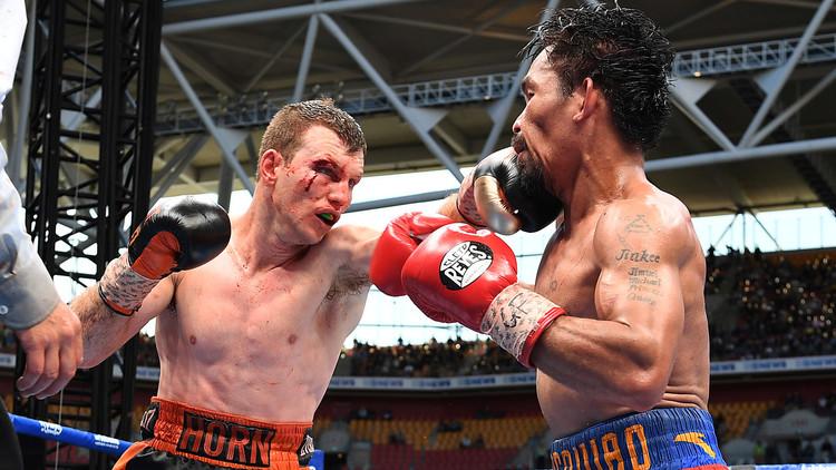 كنغر أسترالي يسقط أسطورة الملاكمة باكياو!