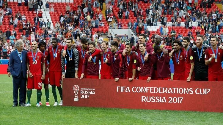 البرتغال تحرز المركز الثالث في بطولة كأس القارات 2017