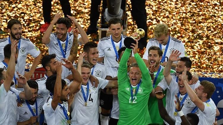 ألمانيا تحرز كأس القارات بفوزها في النهائي على تشيلي بهدف دون رد