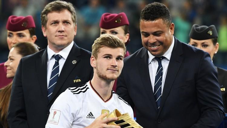 الألماني فيرنير يحصل على الحذاء الذهبي في كأس القارات 2017