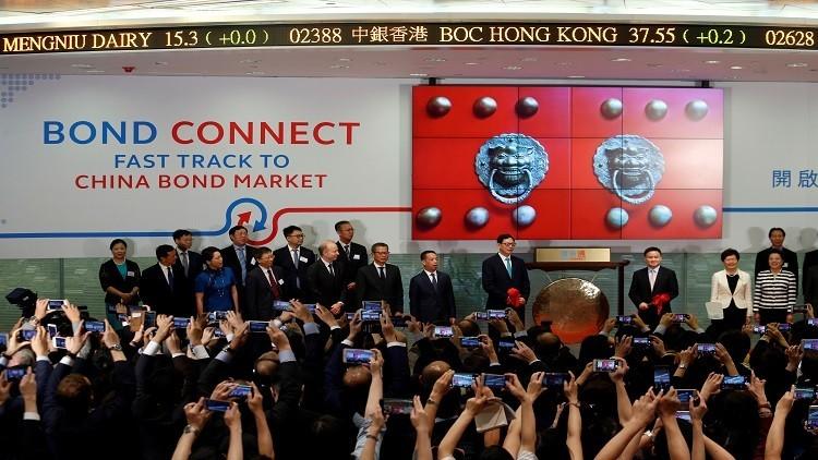 الصين تطلق آلية جديدة للتبادل في الأسواق المالية
