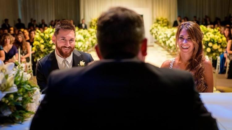 ما وراء كواليس حفل زفاف ميسي