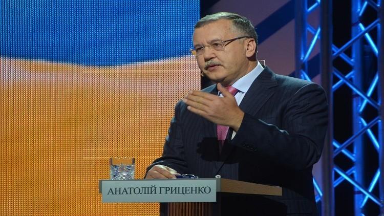 وزير الدفاع الأوكراني السابق يدعو إلى شن هجمات إرهابية داخل روسيا