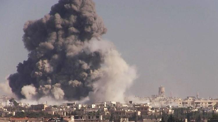 من أين ظهرت سحابة غاز السارين في سماء سوريا؟