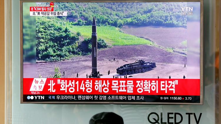 الدفاع الروسية تكذّب إعلان بيونغ يانغ بشأن الصاروخ البالستي