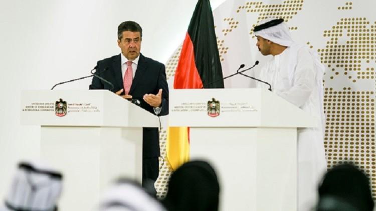 وزير خارجية ألمانيا يعلن من أبو ظبي عن موقف بلاده من الأزمة الخليجية