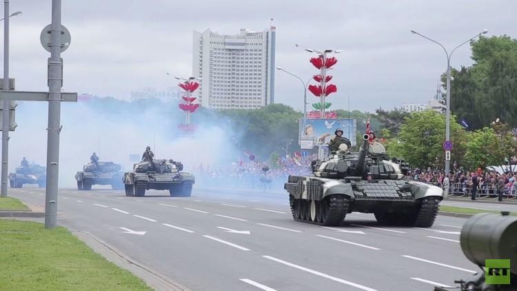 فيديو من عرض عسكري بيوم الاستقلال في بيلاروس