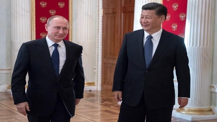 بوتين يشيد بزيادة التبادل التجاري مع بكين