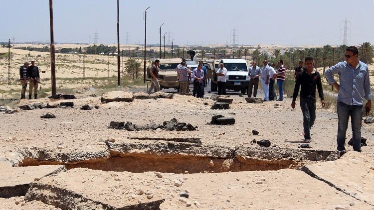 مصر.. مقتل 3 جنود وإصابة 10 في انفجار عبوة  بالعريش