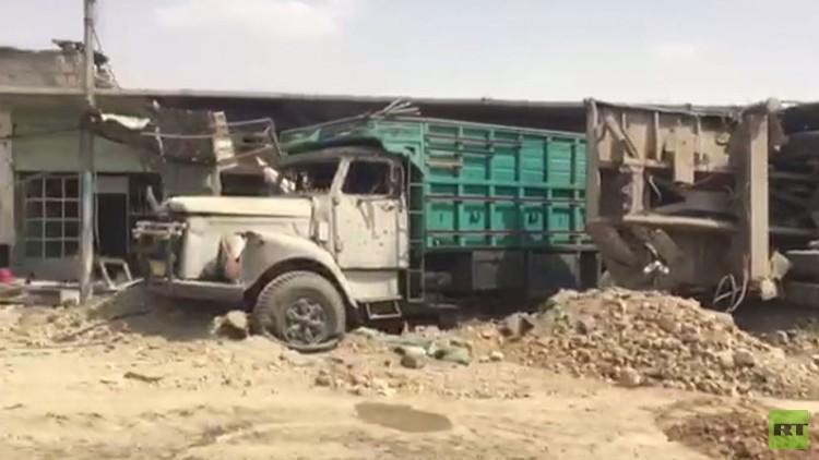 فيديو.. مشاهد الدمار من مناطق الموصل القديمة بعدسة RT