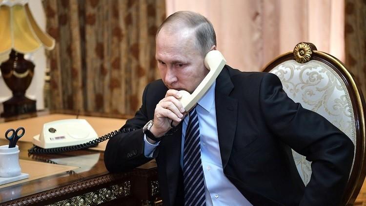بوتين يبحث هاتفيا مع نزاربايف ونتنياهو التسوية في سوريا