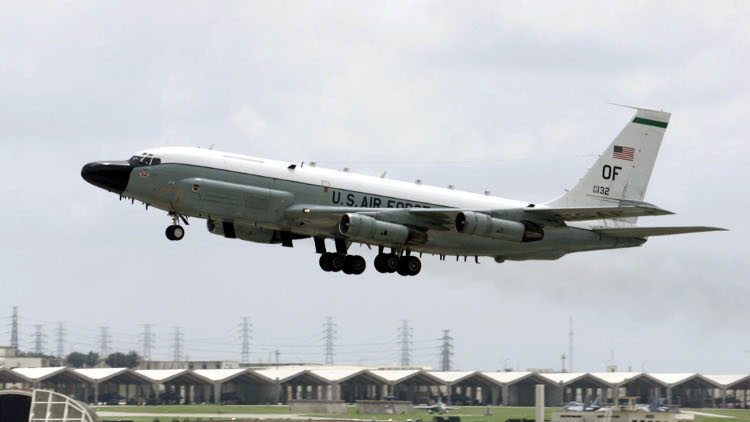 طائرة استطلاعية أمريكية تحلّق قرب حدود روسيا الغربية